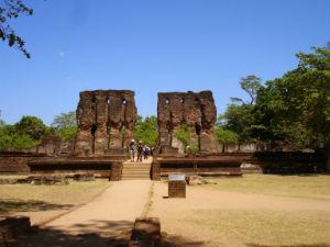 Bygning i Polonnaruwa