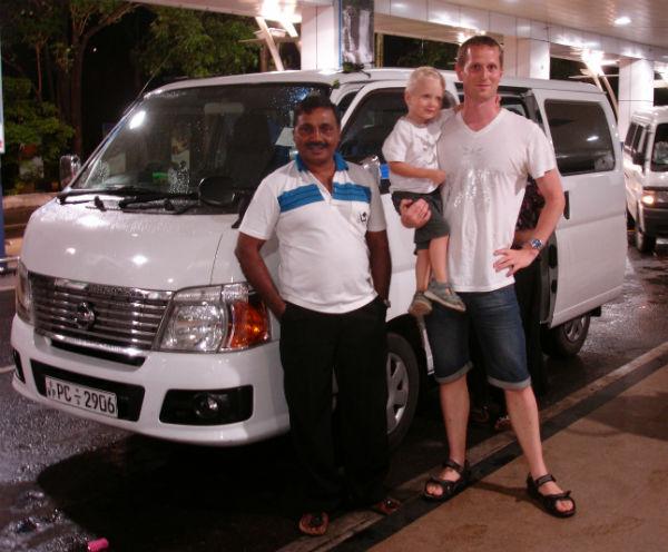Privat chauffør Sri Lanka