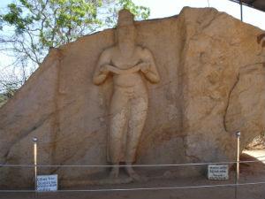 Statue af kongen