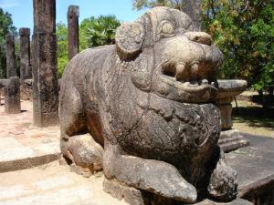 Sten skulptur Polonnaruwa