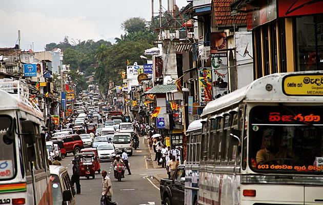 Trafikken på Sri Lanka