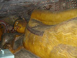 En liggende Buddha