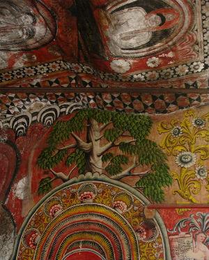 Vægmaleri Dambulla