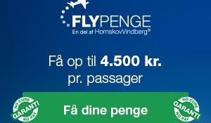 Fly penge