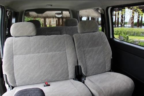 Sæderne i bilen