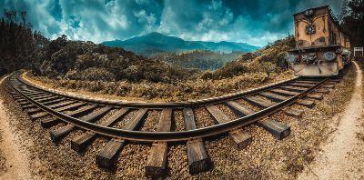 Tog igennem Sri Lanka